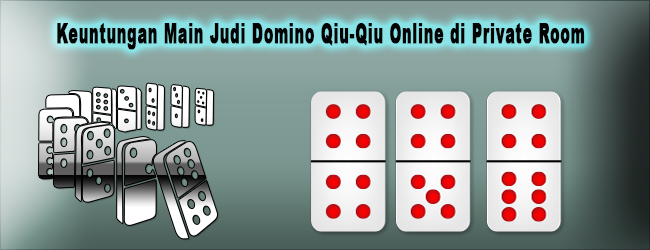 Keuntungan Main Judi Domino Qiu-Qiu Online di Private Room